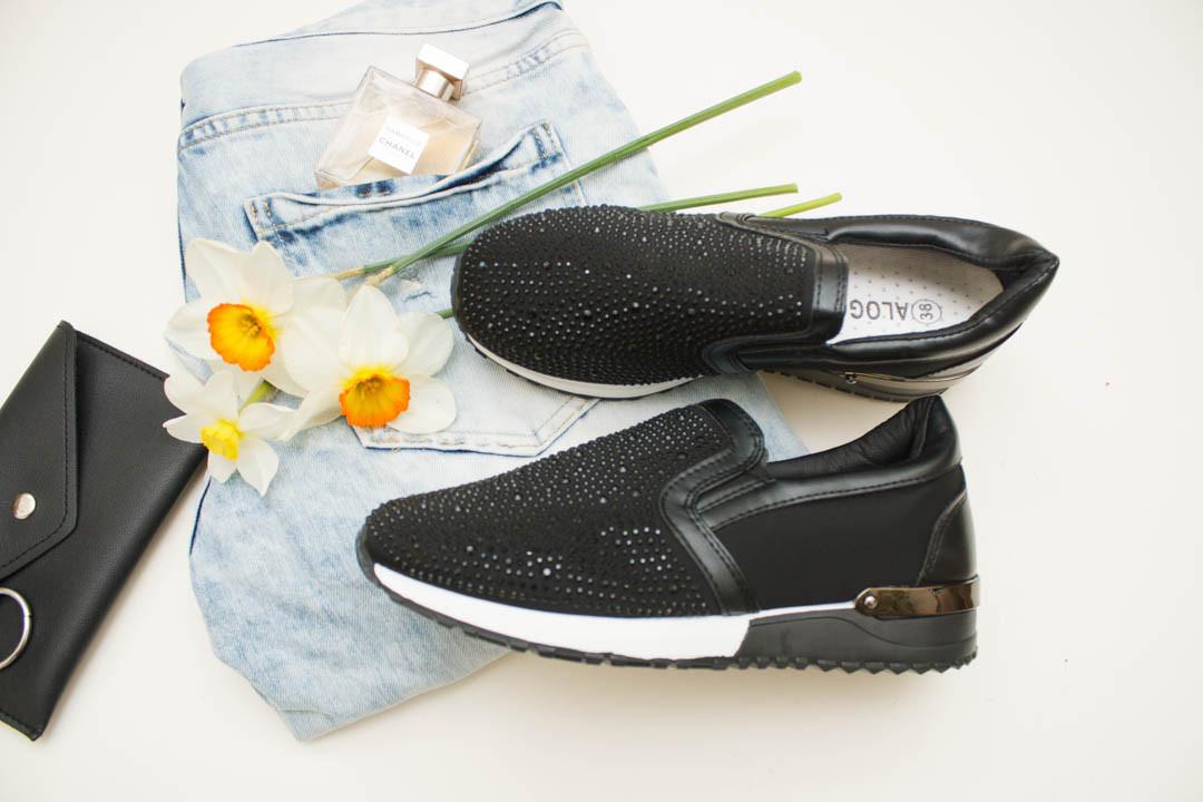 Женские кроссовки (Код: 18-232 черный  )