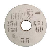 Круг шлифовальный 250х40х76 мм. белый 25А F46-80 СТ-СМ (электрокорунд)