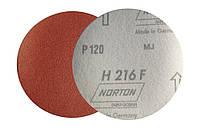 Круги шлифовальные на липучке (фибровые) P120 Norton