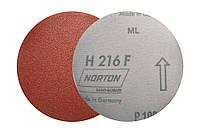 Круги шлифовальные на липучке (фибровые) P100 Norton