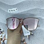 Стильные солнцезащитные очки цвет пудри, фото 4