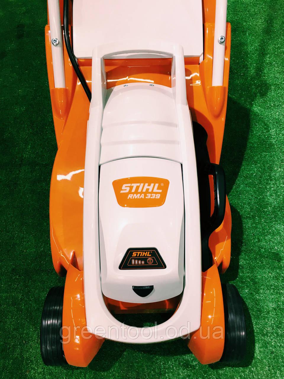 Аккумуляторная газонокосилка STIHL RMA 339 SET (комплект)