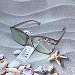 Стильные солнцезащитные очки цвет пудри, фото 5