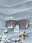 Стильные солнцезащитные очки цвет пудри, фото 6