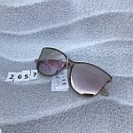 Стильные солнцезащитные очки цвет пудри, фото 8