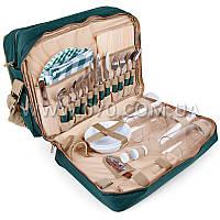 Набор для пикника КЕМПИНГ HB4-425 (посуда на 4 персоны + сумка с термо-отсеком)