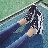 Беговые женские кроссовки черного цвета, фото 2