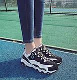 Беговые женские кроссовки черного цвета, фото 3