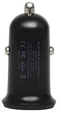 Автомобильное зарядное устройство Nomi CC05232 2 порта 3.4А Черный, фото 2