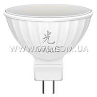 Лампа светодиодная Maxus MR16 (4W, 4100K, 220V, GU 5.3) AP