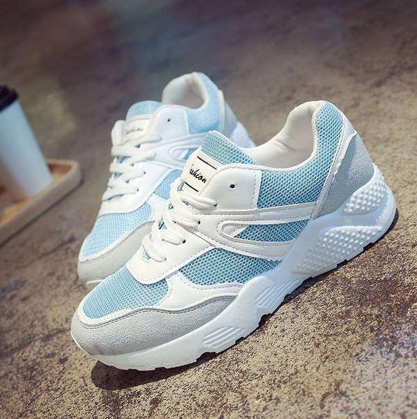 82d5a4ae Заказать Модные кроссовки для девушек голубые дешевые дешево ...