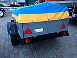 Прицеп бортовой ПАВАМ БТ-350 усиленный, фото 3