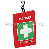 Аптечка Tatonka First Aid School (140х100х30мм), красная 2704.015