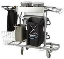 Універсальний візок Compact для комплексного прибирання, Vikan (Данія)