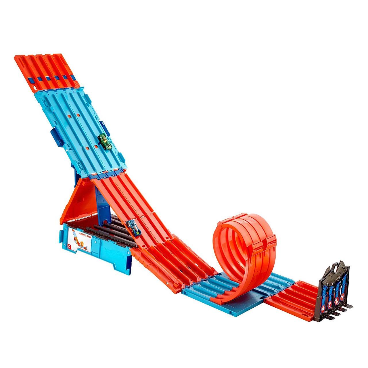 Трек Hot Wheels Хот Вілс Екстремальні гонки Track System Builder Race Crate
