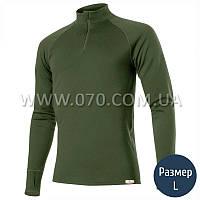 Термокофта мужская Lasting Wiry (260 г/м2, L), зеленая