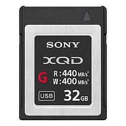 Карта памяти Sony XQD 32GB G Series Memory Card (QDG32E/J)
