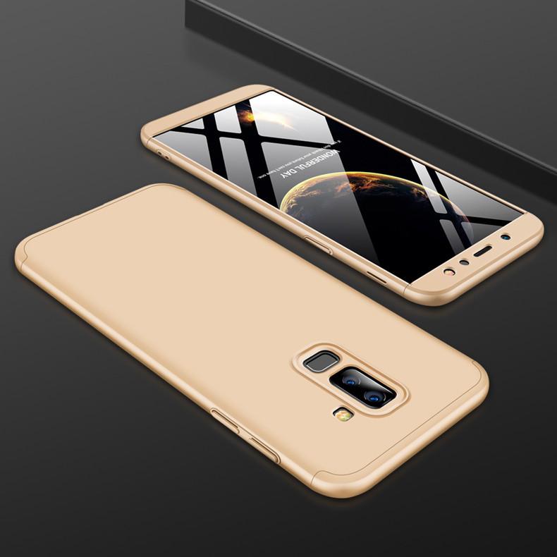 Чохол GKK для Samsung A6 Plus 2018 Золотий