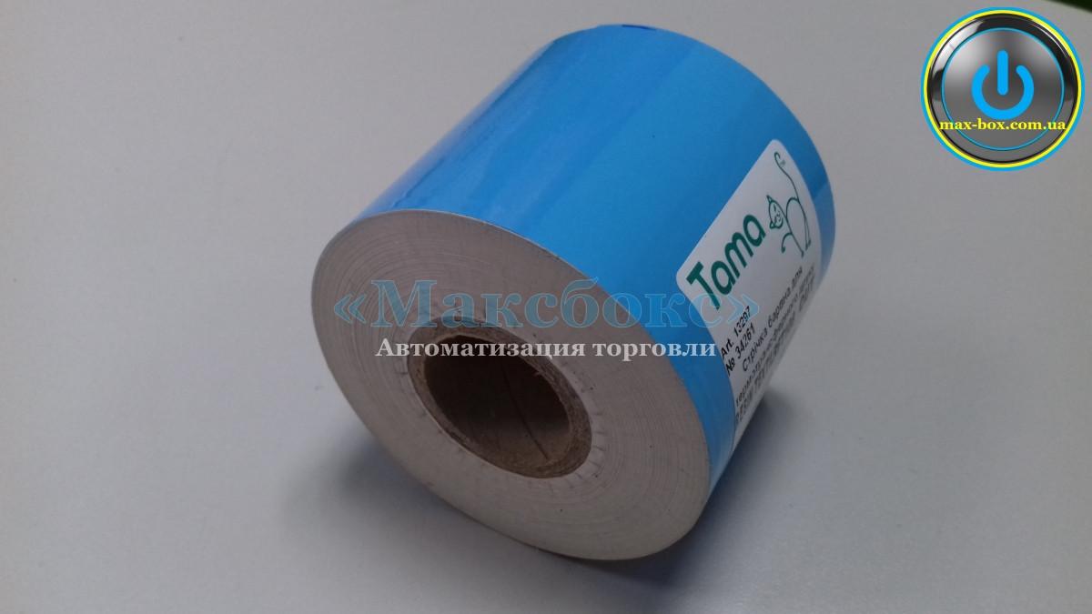 Ріббон білий (барвна стрічка) Resin Textil RFT108 55 x 300