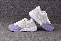 Женские кроссовки с фиолетовым носком, фото 1