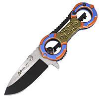 Нож складной Mtech Multi (длина: 14.5см, лезвие: 6.5см), хамелеон