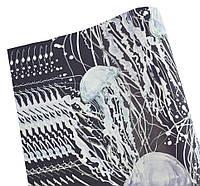Бумага для упаковки подарков(медузы, 10листов)