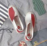 Удобные женские туфли на тракторной подошве, фото 3