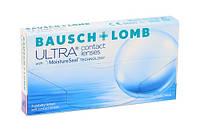 Силикон-гидрогелевые контактные линзы Ultra, Bausсh & Lomb, (3 +1) шт)