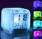 Часы LED Moodicare с будильником и термометром хамелеон, фото 6