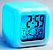 Часы LED Moodicare с будильником и термометром хамелеон, фото 2