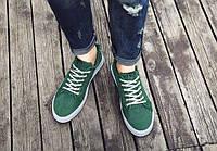 Зеленые летние мужские кеды, фото 1