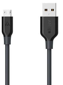 Кабель ANKER Powerline Micro USB - 1.8m V3 (Серый)