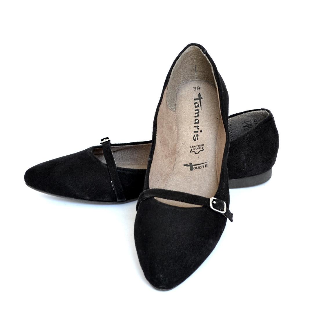 cb3e4a85f3ae5 Балетки женские черные Tamaris размер 38: продажа, цена в Мелитополе ...