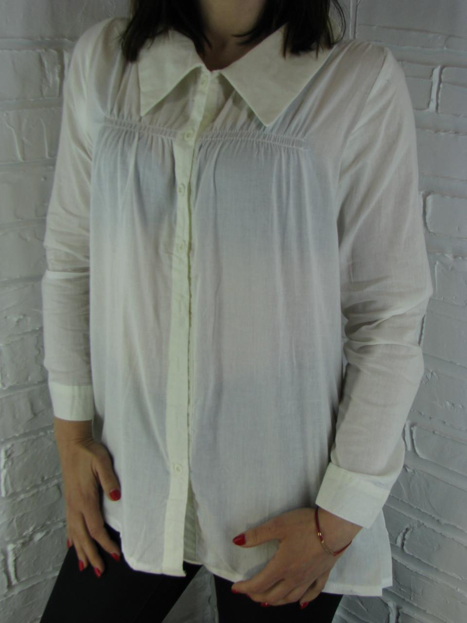 Рубашка женская D 8016 белая