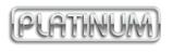Накладная мойка Platinum 6050 R Decor 0,7 мм правосторонняя. Декорированная., фото 3