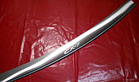 Накладка на задний бампер с загибом Mazda CX-7, Мазда СХ-7