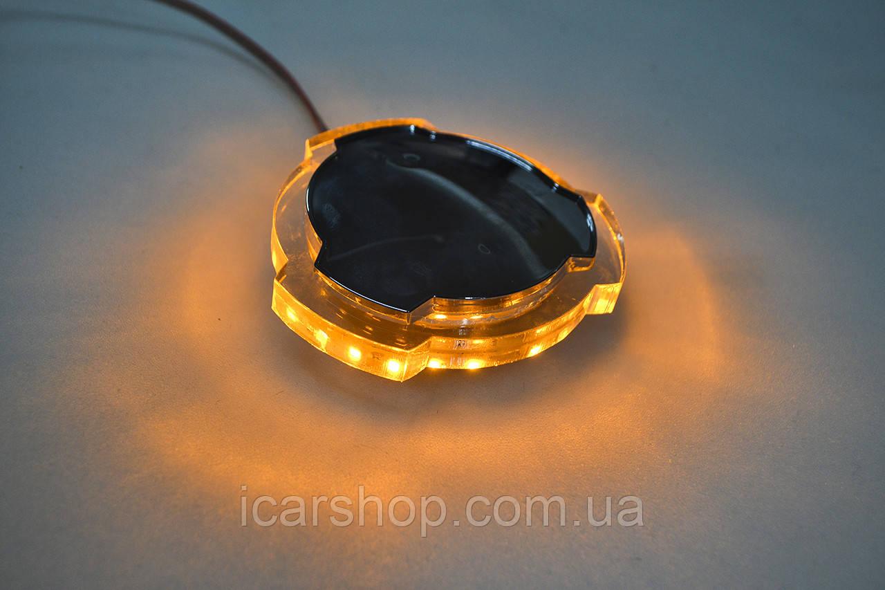 Декоративна лампа / жовта