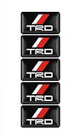 Эмблема TRD -  силиконовая , фото 1