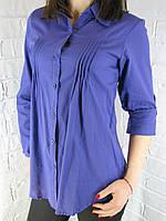 Сорочка жіноча D 8011 фіолетова XXXL