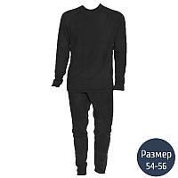 Термокостюм мужской, флисовый Тренд (р.54-56), черный