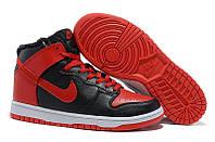 Кроссовки мужские Nike Dunk High с мехом (найк данк, оригинал)
