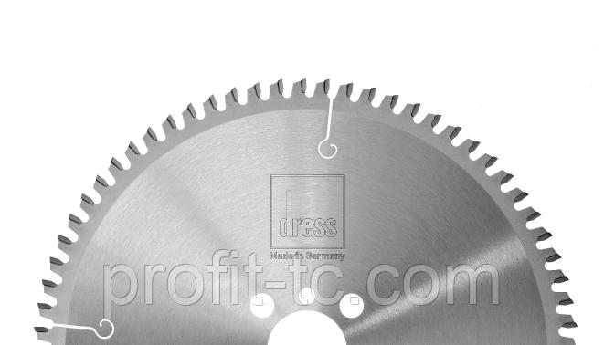 Пила дисковая для резки ПВХ штапика с HW напайками 200×2.2×32mm, 100 z Dress, фото 1