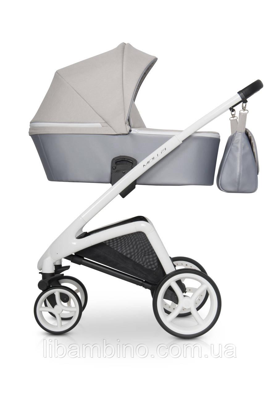 Дитяча універсальна коляска-люлька Riko Molla 03 Stone (Рама з люлькою)