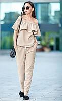 Летний льняной костюм «Фрида», фото 1