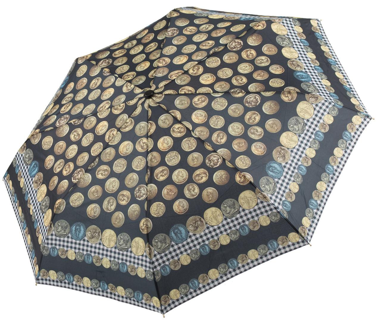 Зонт автомат PERLETTI Maison Монеты 16201.2;7669, разноцветный