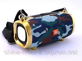 JBL Xtreme M228 Squad копия, портативная колонка 10W с Bluetooth FM и MP3, камуфляжная, фото 2