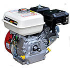 Двигун бензиновий Vorskla ПМЗ 196. Двигун на культиватор, генератор, мотопомпу., фото 5