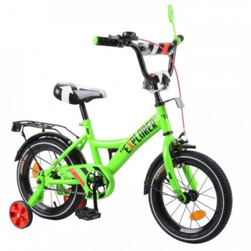 """Велосипед """"Explorer"""" 14"""" (зеленый) T-21418"""