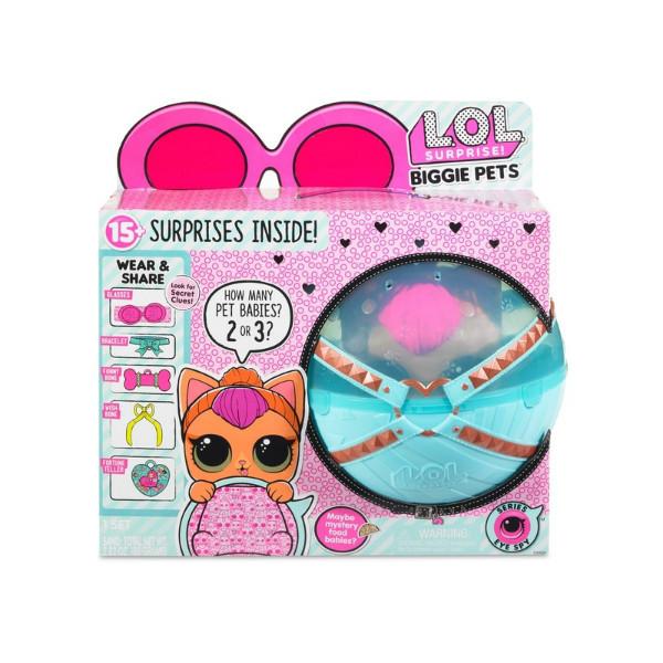 L.O.L Surprise Секретные месседжи Любимец неоновая Китти Biggie Pets Neon Kitty декодер неон китти