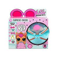 L.O.L Surprise Секретные месседжи Любимец неоновая Китти Biggie Pets Neon Kitty декодер неон китти, фото 1